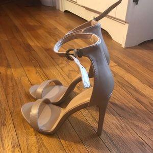 Brand New Nude Sz 8 Heels!